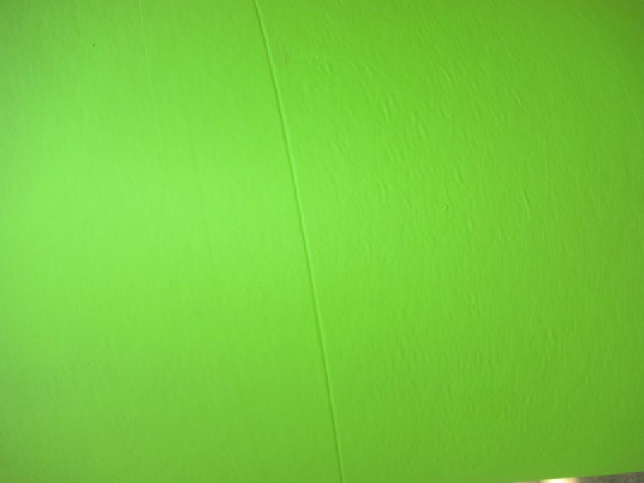 green pole